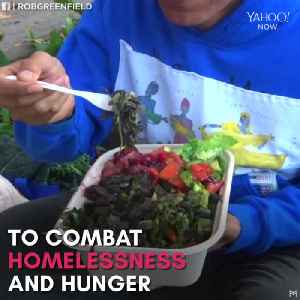 'Food Not Bombs' recycles food for people in need [Video]