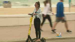 Electric Scooters Banned At Fort Lauderdale Beach During Spring Break [Video]