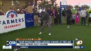 News video: Tiger Woods draws crowd at Pro-Am