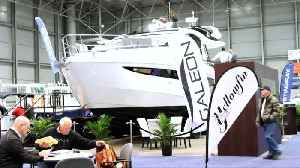 New Yorkers shop at the 2019 New York Boat Show [Video]