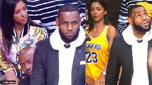 Hot Chick Sitting CLOSE to Lebron James Identified As She Becomes A Viral HIT! [Video]