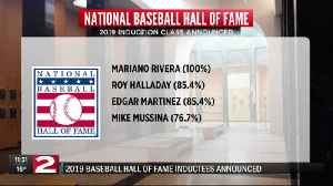 Baseball Hall of Fame class of 2019 announcement 11pm [Video]