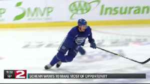 Luke Schenn wants to make most of opportunity with Comets [Video]