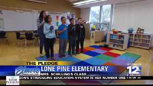 The Pledge: Lone Pine Elementary, Mrs. Schilling's Class [Video]