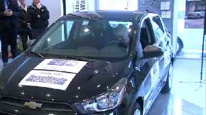United Way Car give-away [Video]
