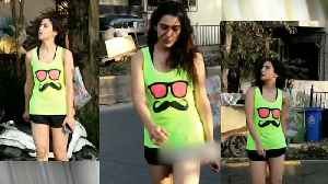 Sara Ali Khan 'buzzes like neon' as she returns from the gym [Video]