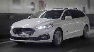 Enchanced Ford Mondeo with unique new Hybrid Wagon Unveiled [Video]