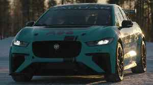 Jaguar I-PACE eTROPHY at the Arctic Circle Challenge [Video]