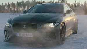 Jaguar XF at the Arctic Circle Challenge [Video]