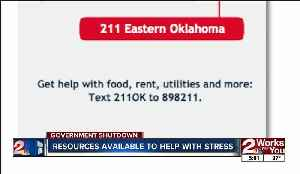 Resources available to help with stress amid government shutdown [Video]
