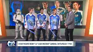 USA Hockey stars visit WXYZ to talk Star Wars Night in support of C.S. Mott Children's Hospital [Video]