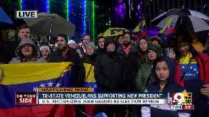 Tri-State Venezuelans support new president [Video]