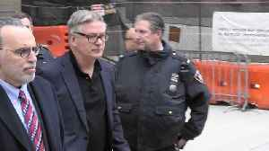 Alec Baldwin Leaving Court After Being Ordered to Anger Management [Video]
