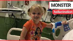 Toddler began to see terrifying monsters after disease attacked her brain [Video]