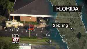 Suspect in Florida bank shooting recently quit his job [Video]