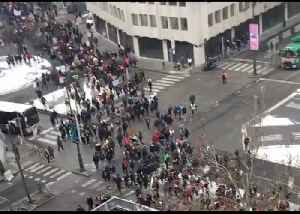 Thousands of Students March in Brussels for Climate Change Action [Video]