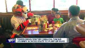 Tigers begin Winter caravan, taking journey across state to pump up fans [Video]