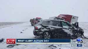 Live Colorado traffic updates as another round of snow arrives [Video]