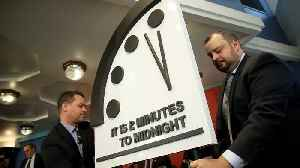 Doomsday Clock Stays At 2 Minutes To Midnight For Second Year [Video]