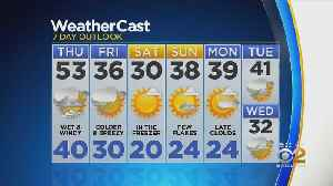 Temps In The 50s For Thursday [Video]