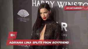 Adriana Lima Is Single Again [Video]