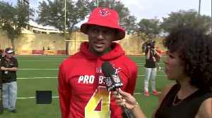 Houston Texans quarterback Deshaun Watson shares why he's excited to be at his first Pro Bowl [Video]
