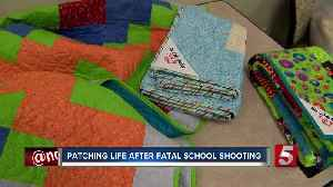 'Be Like Bailey' quilts honor teen killed in Marshall Co. High School shooting [Video]
