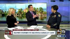 Phoenix Police Chief Jeri Williams speaks to ABC15 about arrest made in sexual assault case at Hacienda Healthcare [Video]