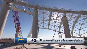 Kevin Demoff shows updates on Los Angeles Chargers-Rams new stadium [Video]