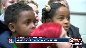 2 Works For You gives 1,000 books to Green Country kids [Video]
