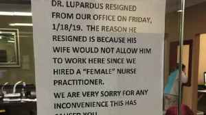 Doctor Allegedly Resigned After Female Nurse Practitioner Was Hired [Video]