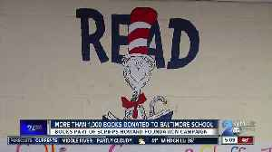 Scripps Howard Foundation donates books to students at Callaway Elementary School [Video]