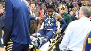 News video: Pacers' Victor Oladipo Suffers Serious Knee Injury