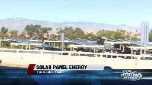 Impact of Tucson International Airport's solar panels, one year update [Video]