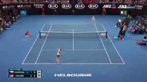 Kvitova beats Collins to reach final [Video]