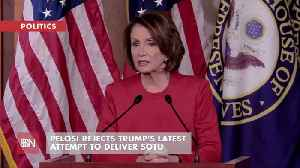 Pelosi Tells Trump Not To Show Up In Congress For SOTU [Video]