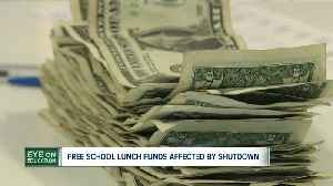 News video: School districts that provide free lunch are concerned with funds during government shutdown