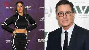 Stephen Colbert Starts Petition For Cardi B to Give State Of The Union Rebuttal [Video]