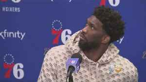 Uninvited Guests Steals Spotlight During Joel Embiid's Post Game Press Conference [Video]