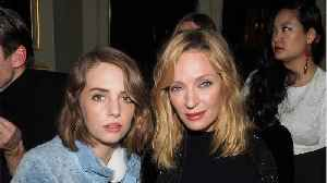 Uma Thurman And Daughter Have Uncanny Resemblance [Video]