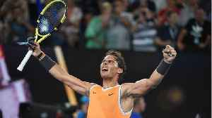 Rafael Nadal Makes 25th Grand Slam Final [Video]