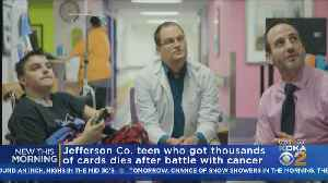 Jefferson Co. Teen Dies After Battle With Cancer [Video]