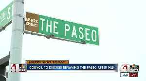 A potential vote could decide the fate of renaming The Paseo in honor of MLK [Video]