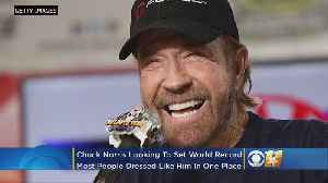 Chuck Norris Wants To Set World Record For Most People Dressed As Him In One Place At 5K Race In Texas [Video]