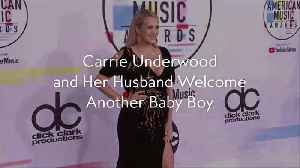 Carrie Underwood and Her Husband Welcome Another Baby Boy [Video]
