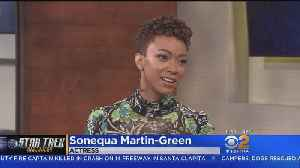 Sonequa Martin-Green Excited To Share Season 2 Of 'Star Trek: Discovery' [Video]