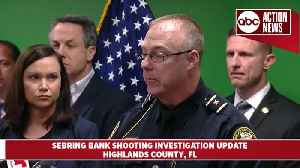 Five women dead after shooting at SunTrust Bank in Sebring | News conference [Video]