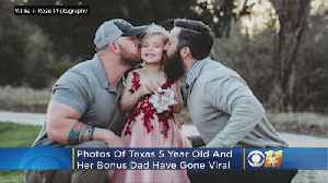 Photo Of Texas 5-Year-Old With Birth Dad And 'Bonus Dad' Goes Viral [Video]