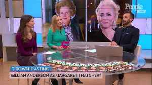 Meet The Crown's Iron Lady- Gillian Anderson Cast as Margaret Thatcher in Netflix Hit: Report [Video]