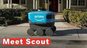News video: Amazon Debuts Its New, Cute Autonomous Delivery Robot Named Scout